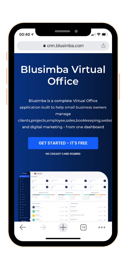 Blusimba Virtual Office